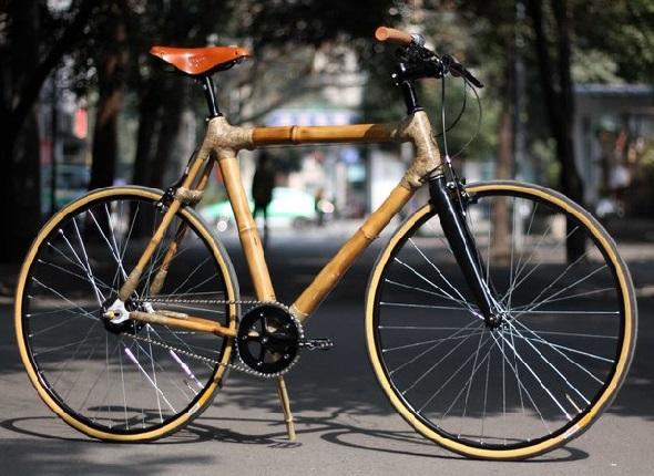 Рама велосипеда из бамбука