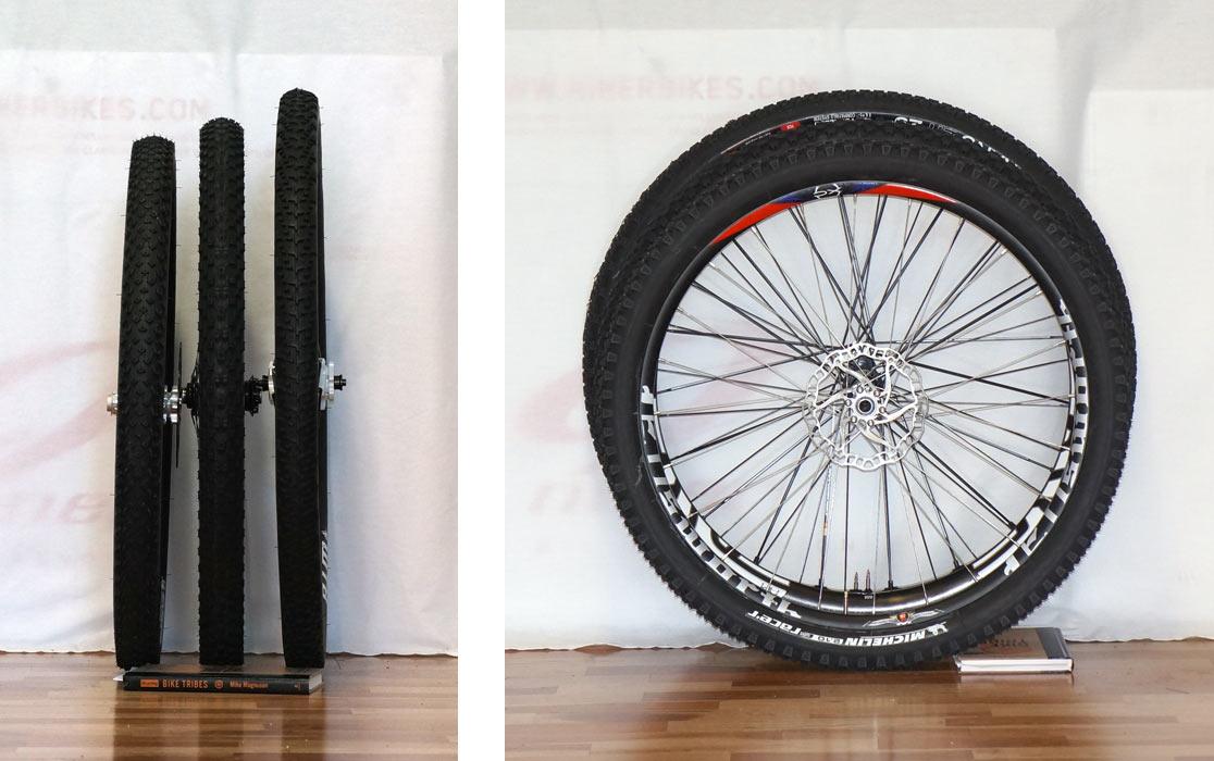 Различие диаметров колес 26, 27 и 29 дюймов