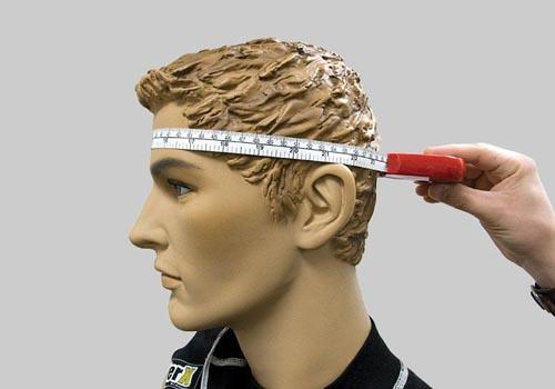 Правильный замер окружности головы