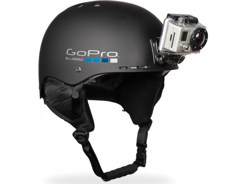 Преклеенное крепление экшн-камеры на шлем