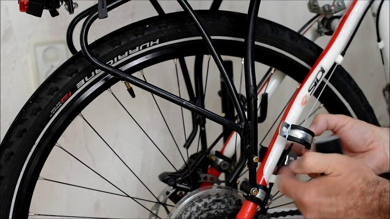 Как сделать багажник на велосипед фото 534